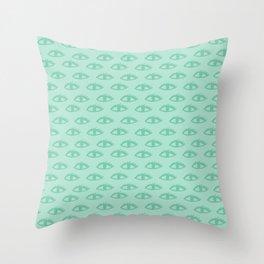 Beady Eye 03 Throw Pillow