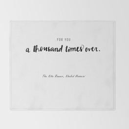 The Kite Runner Throw Blanket