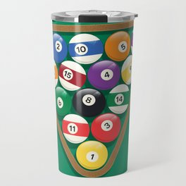 Billiard Balls Rack - Boules de billard Travel Mug