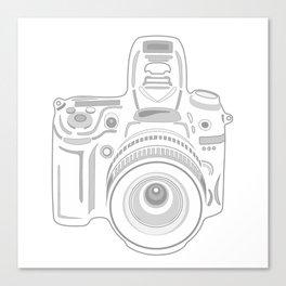 Grey Cameras Canvas Print