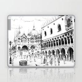 Sketch of San Marco Square in Venice Laptop & iPad Skin