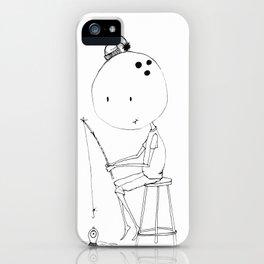 Bowl head iPhone Case