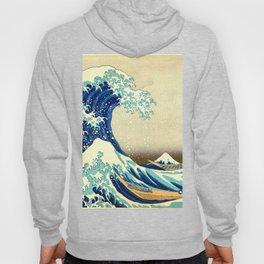 The Great Wave Off Kanagawa Katsushika Hokusai Hoody