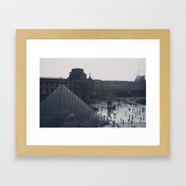 l'après-midi au Louvre (6) Framed Art Print