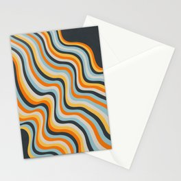 Dancing Lines Stationery Cards