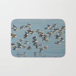Flight of the Sanderlings Bath Mat
