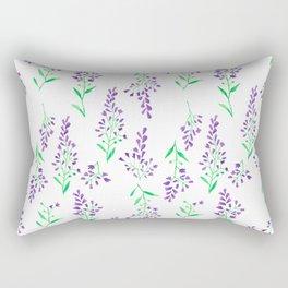 Purple Delphinium Rectangular Pillow
