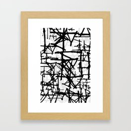 Abstract1on Framed Art Print