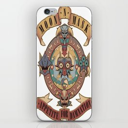 Appetite for damnation iPhone Skin