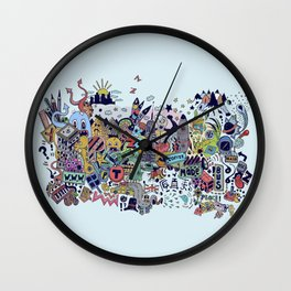 i'm an iconic person Wall Clock