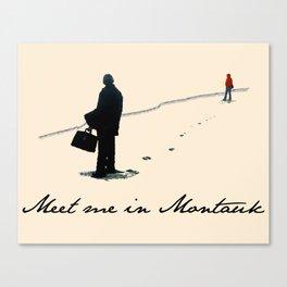 Meet Me In Montauk Canvas Print