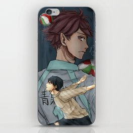 To match your skills iPhone Skin