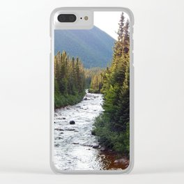 Mountain River Clear iPhone Case