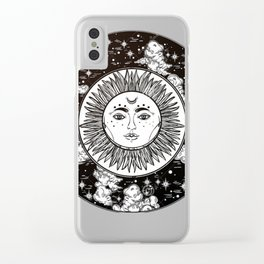 Moon. Clear iPhone Case