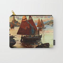 Lake Garda - Vintage Poster Carry-All Pouch