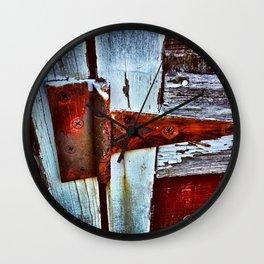 Rusty Creak Wall Clock