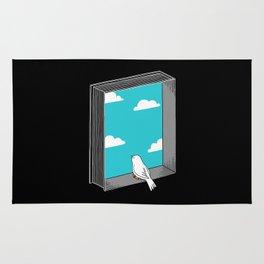 Every book a window Rug
