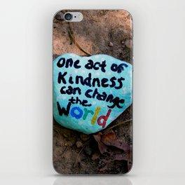 Kindness rock Burke Lake iPhone Skin