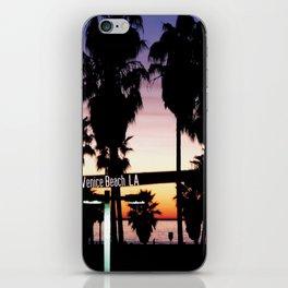 Venice Beach Los Angeles iPhone Skin