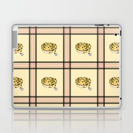 Leopard Gecko Plaid Laptop & iPad Skin
