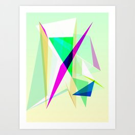 Experimento 2 Art Print