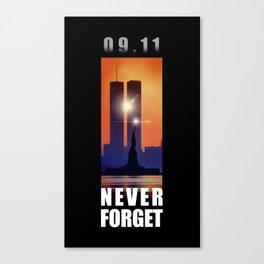 09,11 - September 11 attacks - New York - World Trade Center Canvas Print