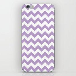 Lavender Chevron Pattern iPhone Skin