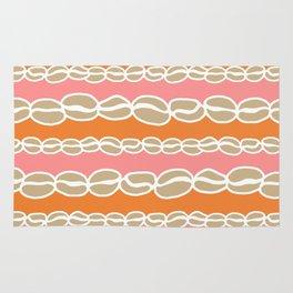 Coffee Beans: Sun Kiss Orange Peach Rug