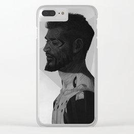 Deus Ex: Adam Clear iPhone Case