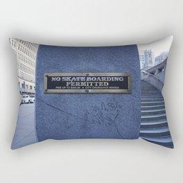 Not Permitted Rectangular Pillow