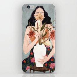 Hilda with vase iPhone Skin