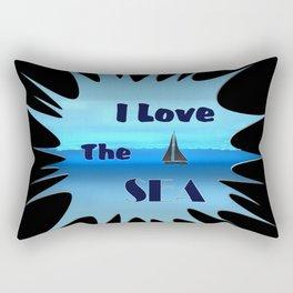 SEA LOVE Rectangular Pillow
