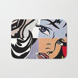 Lichtenstein's Girl Bath Mat