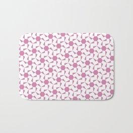 Damascus Motif Rose Palette Bath Mat