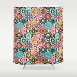 Bohemian summer Shower Curtain
