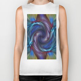 Colors With a Twirl Biker Tank