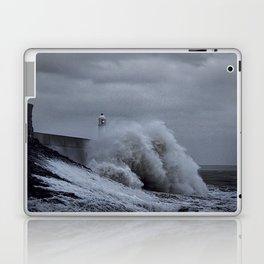 Waves at Porthcawl Laptop & iPad Skin