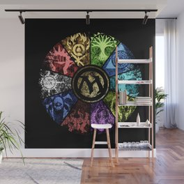 Magic the Gathering - Faded Guild Wheel Wall Mural