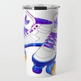 Roller Derby skaters Travel Mug