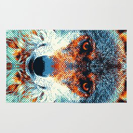 Wolf - Colorful Animals Rug