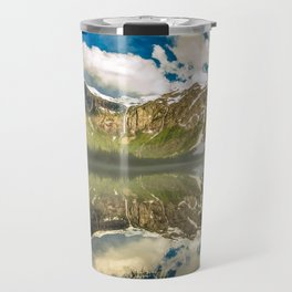 Mountains Reflection Travel Mug