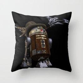 Steampunk Sci-Fi  Throw Pillow