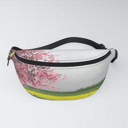 Tree in blossom Fanny Pack
