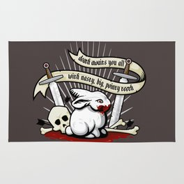 The Rabbit of Caerbannog Rug