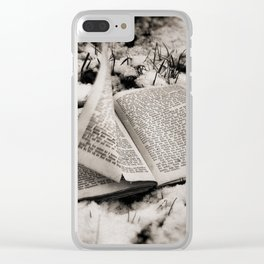 Read To Me Clear iPhone Case