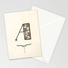 A a Stationery Cards