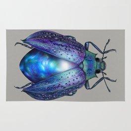 Black Opal Beetle Rug