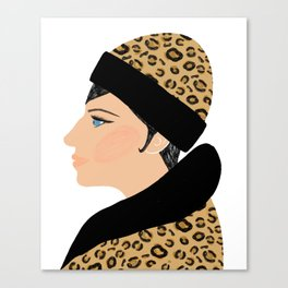 Barbra Canvas Print