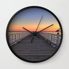 Infinite Sunset Wall Clock