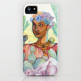 Madre Del Desierto iPhone Case